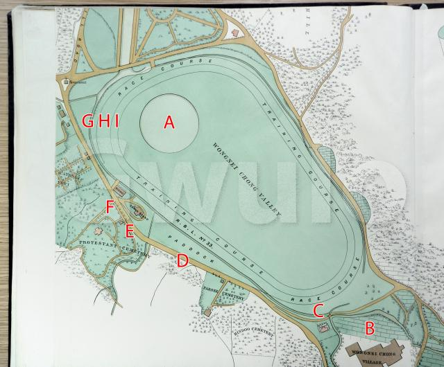 1889 map of Happy Valley