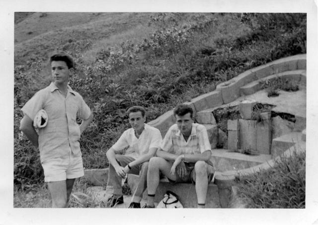 HK On way to Big Wave bay 30 May 1958