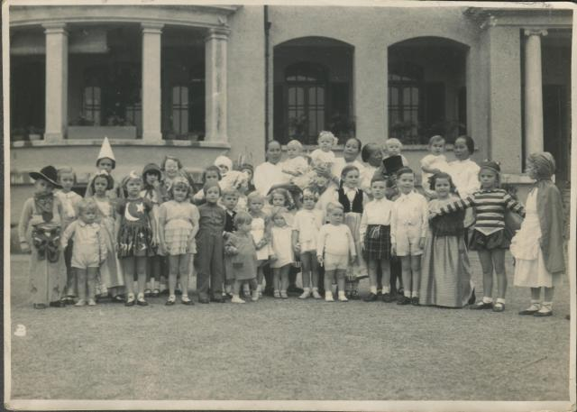 Homestead Government Flats, Children's Fancy Dress Party circa 1937