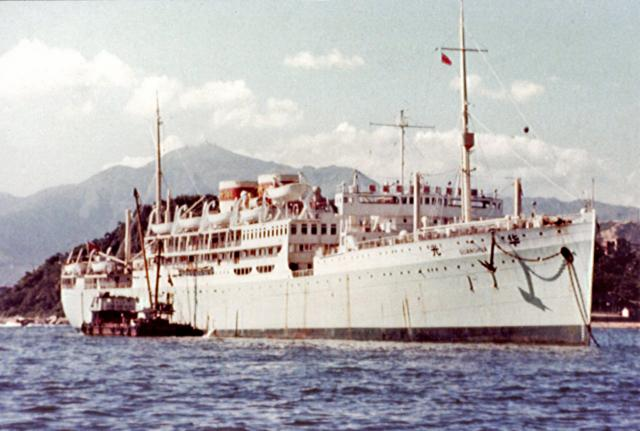Chinese liner GUANGHUA-ex HIGHLAND BRIGADE