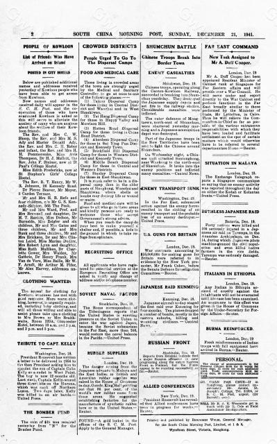 Hong Kong-Newsprint-SCMP-21 December 1941-pg2.jpg