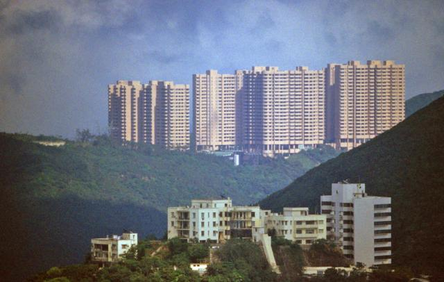 Cameron Mansions group in foreground-Parkview Estate rear