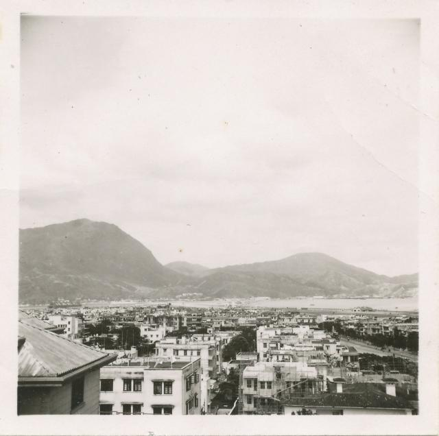 Veiw from  33 Gen Hospital La SALLE roof 1952/53.jpg