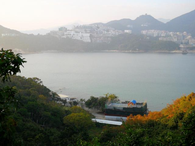 Stanley Bay from Wong Ma Kok Road