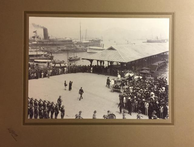 Official Arrival at Blake Pier in the 1920s