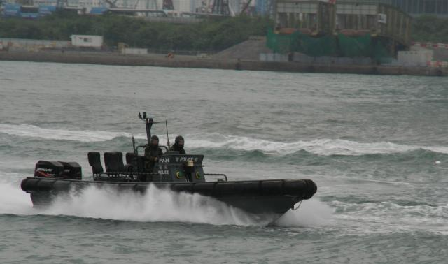 Hong Kong Police Fast Pursuit Craft 2011
