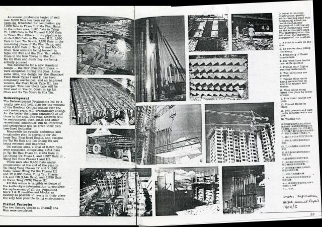 Some Interesting Facts About Building Housing Estates and Flatted Factories in Hong Kong