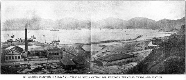 Hung Hom Bay - Reclamation for KCR ( & Electric Power Station)