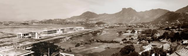 Kai Tak airport-RAF base-1935-panorama