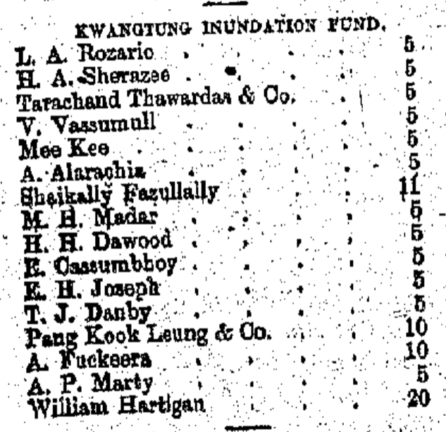 Kwangtung Inundation Fund The China Mail, page 3, 13th July 1885.png