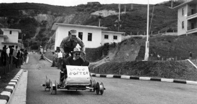 LSW Soap Box races Xmas 1954.
