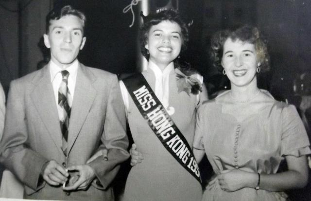 MISS HONG KONG 1954, JOHN AND ANNE RAND
