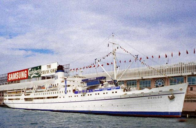 MV DOULAS built 1914-pictured in 1996