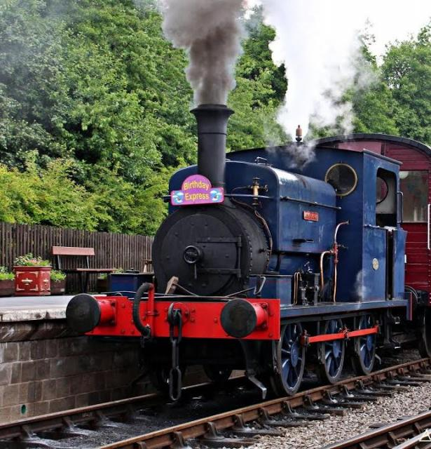 Preserved Manning-Wardle- Steam Locomotive - Middleton. Railway U.K.