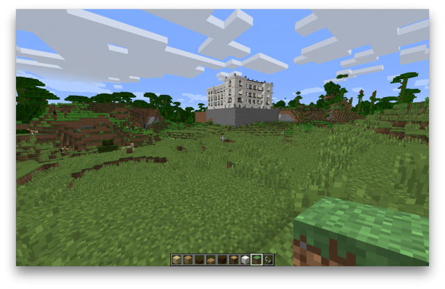 Minecraft French Mission building