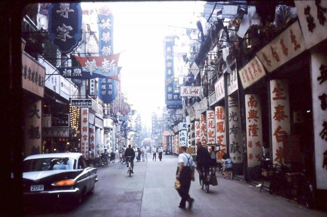 Shanghai St 209 looking south 1959 Chevrolet