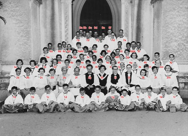 St Johns Cathedral Choir 1956