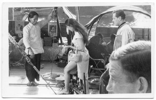 Suzie Wong film shoot a.