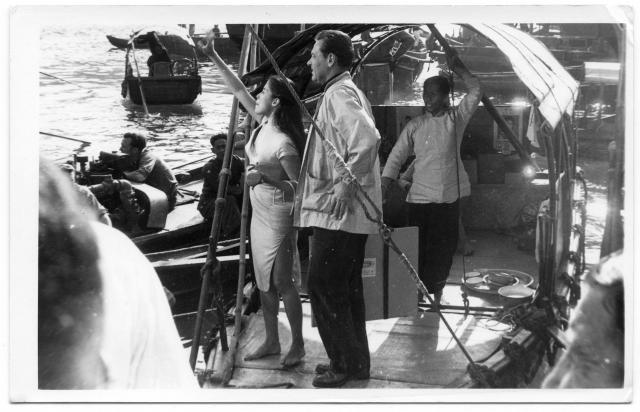 Suzie Wong film shoot b.