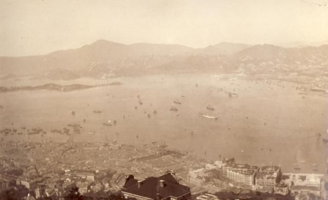 View2 from the Peak about 1910-11