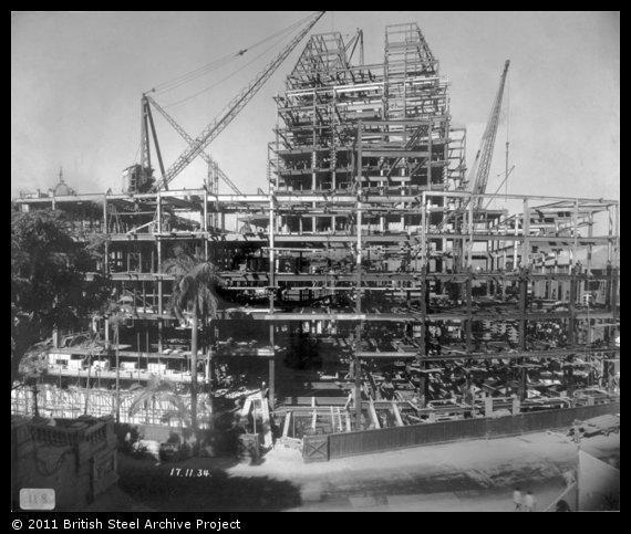 1934 HSBC Under Construction