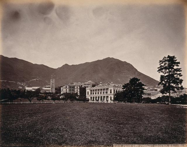 c.1873 Parade Ground, City Hall & Cathedral
