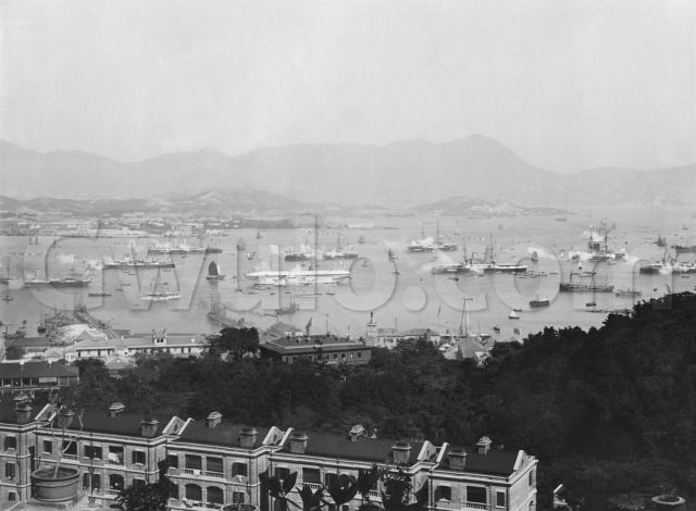 1901. The fleet fire a salute for the King's birthday