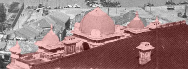 Building with domes