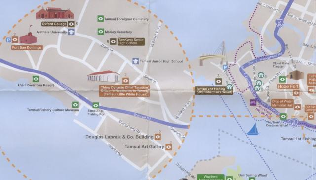 Tamsui map #1