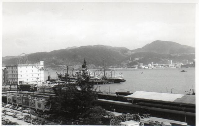 View towards HK Island over Kowloon Railway