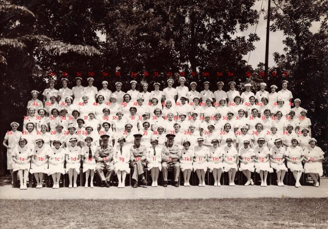 Nursing Detachment, Hong Kong Volunteer Defence Corps, 1941