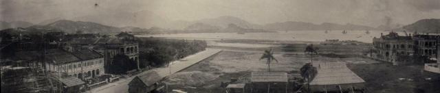 Panoramic view from the Kingsclere Hotel, 1924