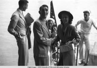 Hong Kong, American evacuees and sailors during World War II