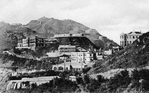 1910s View of The Peak
