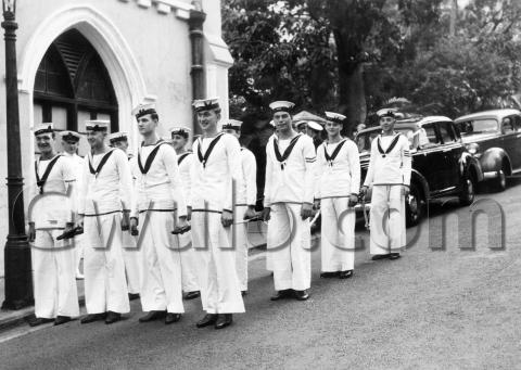 1940 Naval wedding