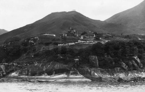 1928 Garrison at Lyemun