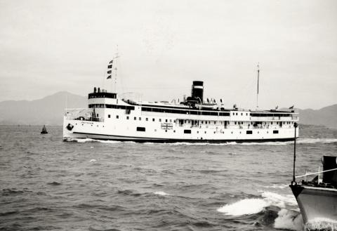 1950s Macau Ferry Fat Shan