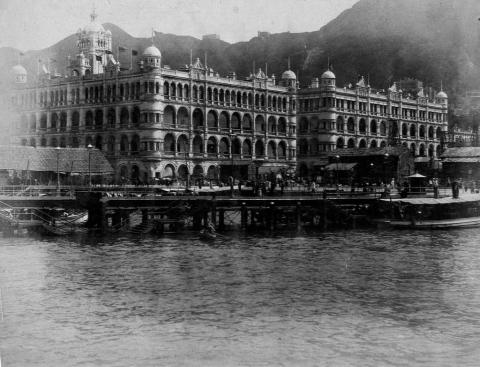 1900's victoria buildings hong kong