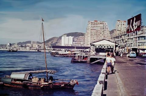 1962 Wanchai waterfront