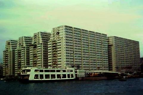 1960s Jordan Apartments and Ferry Pier