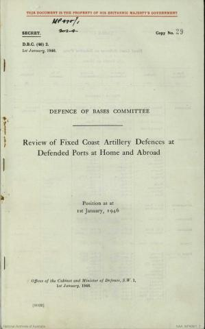 Defended Ports 1946