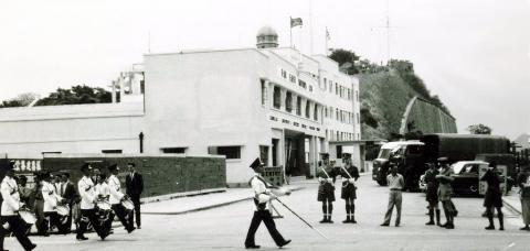 1954 Parade - Junction of Nathan and Middle Roads