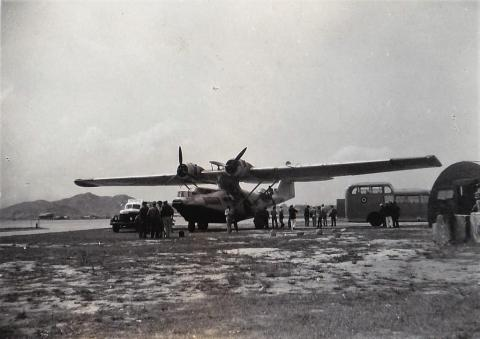 1948 RAF Kai Tak - US Navy Consolidated PBY-5 Catalina