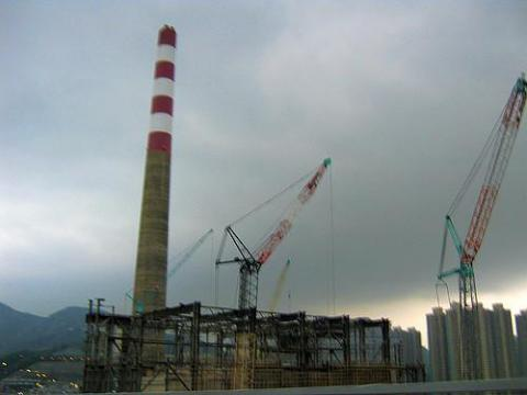 Old_Hong_Kong - demolition of the Lai Chi Kok incinerator