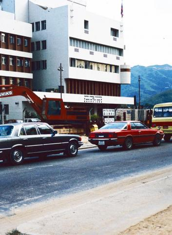 Frontier Divisional Headquarters & Sheung Shui Police Station, Fanling, New Territories, Hong Kong 1980