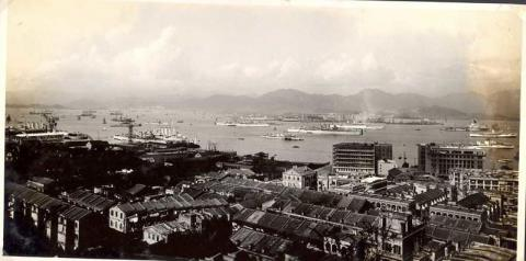 1936 Wanchai - Retention of Single Blue Building