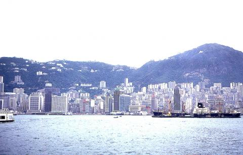 View of HK from Kowloon