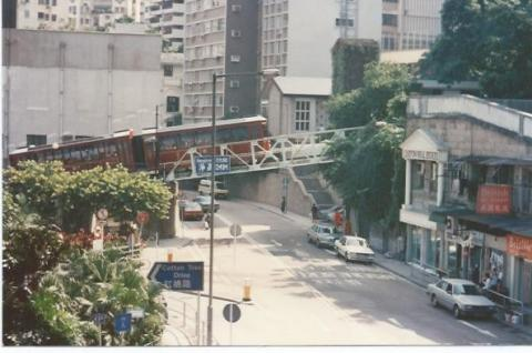 Bridge over Kennedy Road 1991
