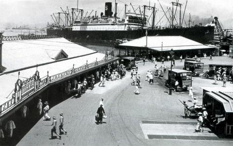 Star Ferry, Kowloon, 1923