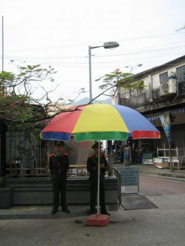 2005 Shau Tau Kok Mainland Security Post